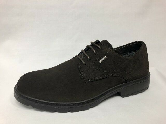 shoes stringate Igi&co camoscio brown Gore-Tex Made in  list -20%