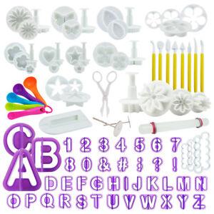 Buchstaben Ausstecher Ausstechform Stempel Fondant Keks Cookies Marzipan