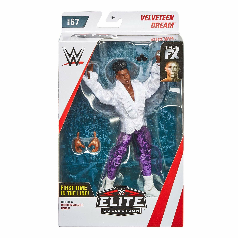 Wwe die Baumwollsamt Dream Fx Zubehör Mattel Elite Serie 67 Wrestling Figur
