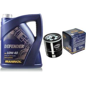 Olwechsel-Set-5-Liter-MANNOL-Defender-10W-40-SCT-Olfilter-Service-10164130