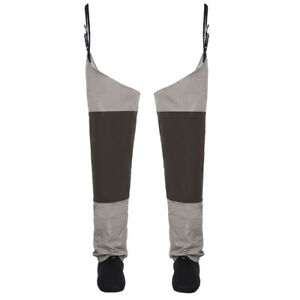 Fly-Fishing-Waders-Stocking-foot-Hip-Breathable-Thigh-Waterproof-Leg-Pants-Wader