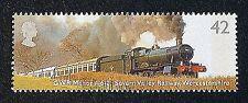 GWR Manor Class Train, Severn Valley Railway on 2004 Stamp - U/M