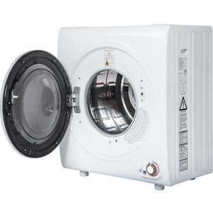 2 65 Cu Ft Electric Compact Laundry Dryer 9lbs Capacity Portable Clothes Dryer Ebay