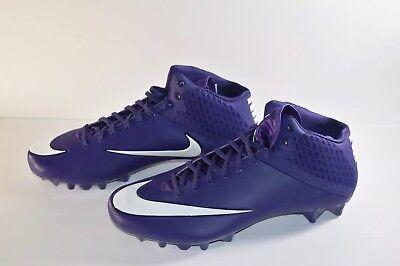 nike vpr Vapor Men's Football Cleats Purple And White Size 14.5. | eBay