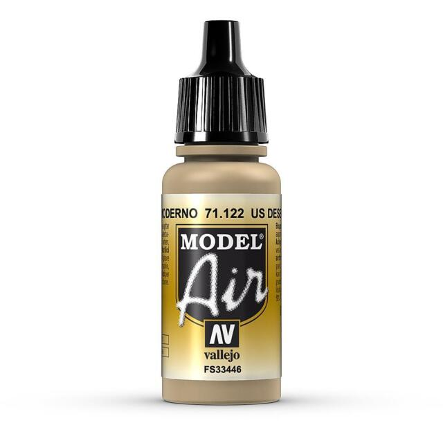 Vallejo Model Air Color 71.122 - Wüstenbraun 686 - 17 Ml (16,18€/100Ml)
