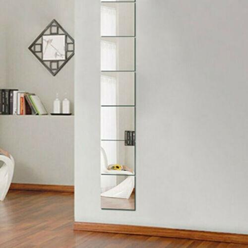 Spiegelfliesen 6 Stück Spiegelkachel 30x30cm Spiegel Wandaufkleber-Spritzschutz