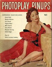 Jeanne Crain Grace Kelly Marilyn Monroe Photoplay Pinups Magazine #5 L4630