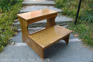 16 5 Quot Tall Handcrafted Safety Step Stool Solid Wood