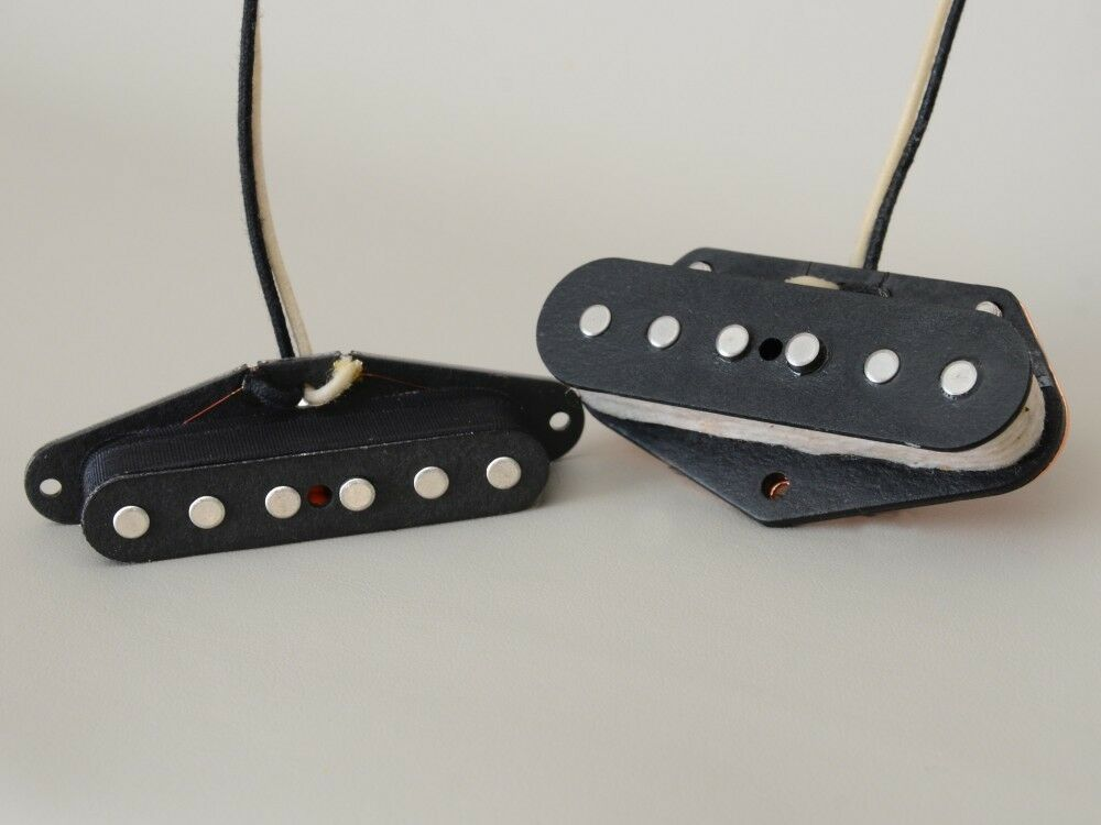 New Lindy Fralin Blaus Special Tele Pickup Set of 2 Telecaster Made in USA +Gift