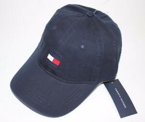 8684097c5df NWT TOMMY HILFIGER One Size Men s Navy Embroidered LOGO Baseball Hat ...