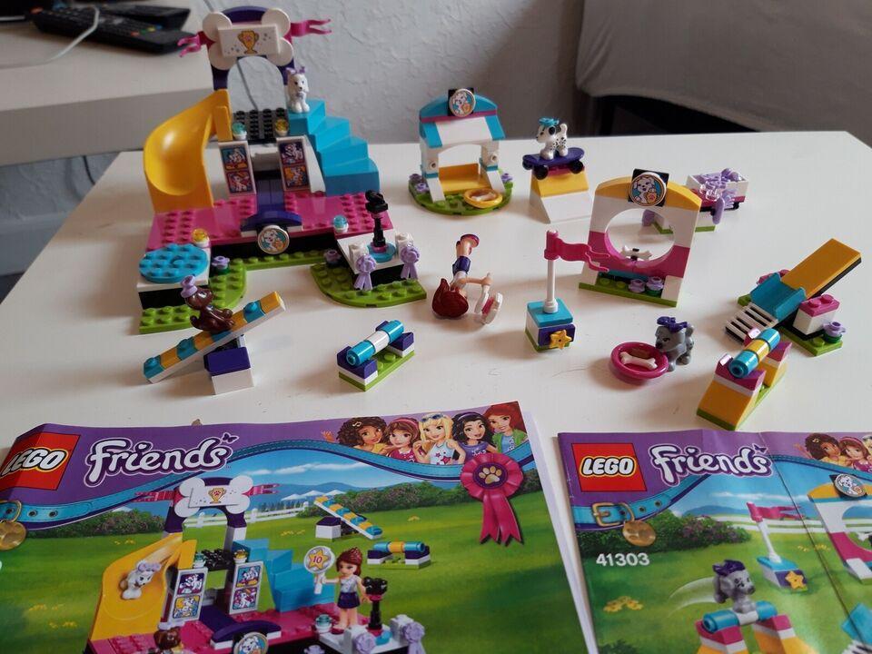 Lego Friends, Hvalpemesterskab 41300 og hvalpelegeplads