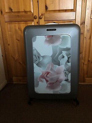 0998718be Brand New With Tags Ted Baker Ceciny Porcelain Rose Large Suitcase ...