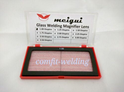 Magnifier Magnifying Lens for Welding welder Helmet Hood Cheater lens 1.00-3.50