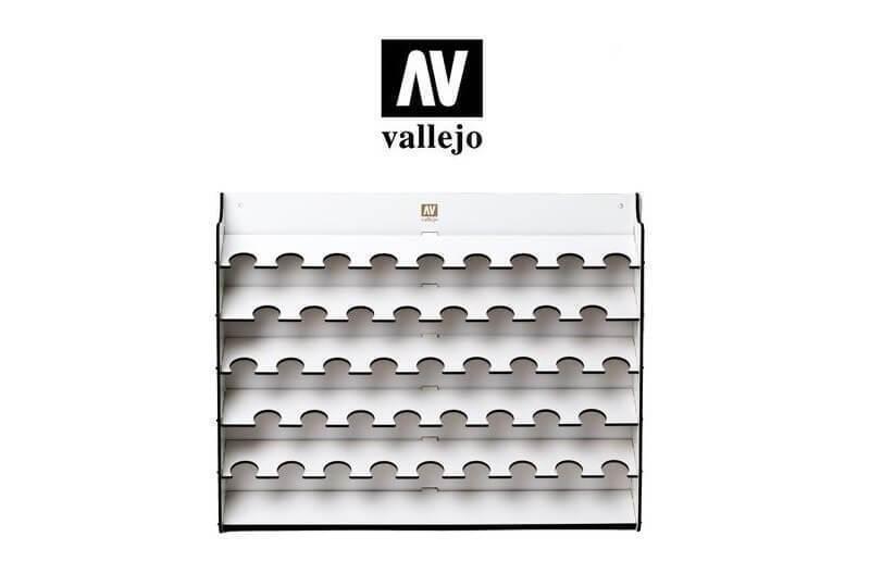 Oficial Acrílico Vallejo Pared Pintura Pintura Pintura Soporte 43x17ml Val26010 1ab2c9