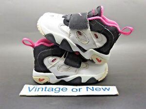 ce9bcb7ae7a0 Girls Nike Air Diamond Turf II 2 White Black Pink Deion Sanders TD ...
