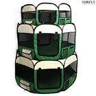 8 Panel Pet Dog Playpen Puppy Rabbit Exercise Play Pen Enclosure Fence Tent Cage