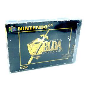 The Legend of Zelda Ocarina of Time Jeu Nintendo 64 En boite avec Crystal Box