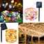 10M-20M-Outdoor-Solar-Powered-100LED-200-LED-Copper-Wire-Light-String-Fairy-Xmas miniature 2