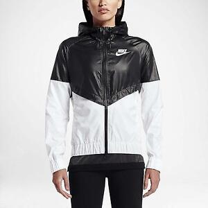 Nike Noire Des Femmes Veste Runner Vent Et Images Blanches dédouanement livraison rapide toUju
