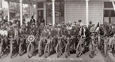 MOTORCYCLE DAY LIVERMORE CIRKUT PANORAMA 9/24/1911 DIGITAL PRINT PHOTOGRAPHY