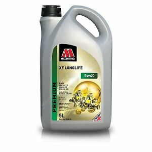 Millers-Oils-XF-LONGLIFE-5w40-FULLY-SYNTHETIC-ENGINE-OIL-5L-7640GG-SPOOX