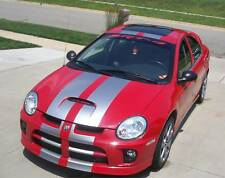Rally Stripe Stripes Graphics Decals Dual 10 Fits Dodge Neon Srt 4 Srt Srt4