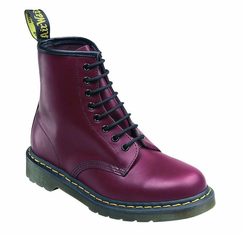 Dr Martens 8 trous 1460 CHERRY rouge 59er 10072600 Original Classic Doc