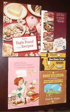 Lot of 5 Vintage Dairy Food Booklets Sour Cream Cottage Cheese Butter Recipes