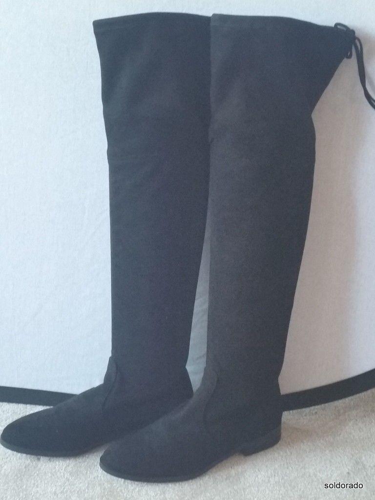 Hallhuber botas altas negro Gr. 36 *** 'nuevo