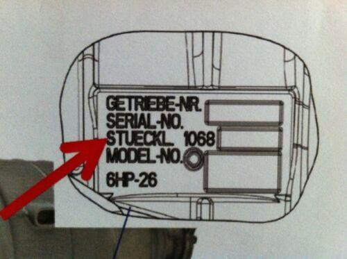 N 6hp26//x//6hp28//a//x//6hp32 dense hülsensatz pour Mécatronique D Transmission automatique