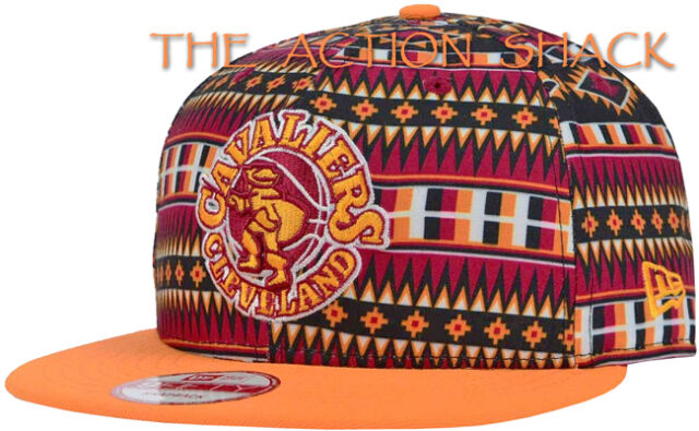 1e286c4a130 J5 - Cleveland Cavaliers Tri-All Hat   Cap   NWT Adult Snapback Multi -