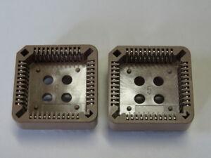 2pcs- Support Ci, 44 Contacts, Embase Plcc44 - 2 Pieces Ttbw8fgj-07215500-305998538