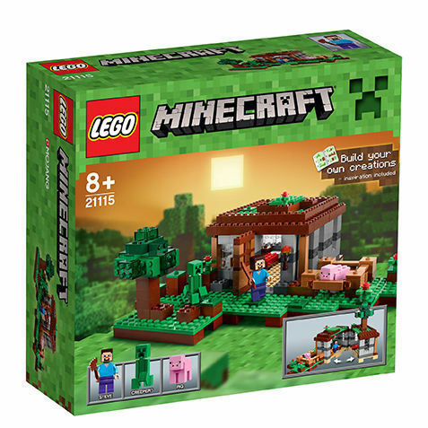 LEGO ® 21115 Minecraft ™ girava casa The First Night NUOVO OVP NEW ORIGINALE