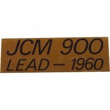 Original Replacement Gold Marshall JCM 900 LEAD - 1060 Logo Plate for Cabinets