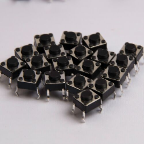 6x6x4.3mm Momentary Push Switch 4 pin  Free Postage UK Seller Low Europostage