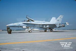 Original-F-18-161718-Slide-Fuzileiros-Americanos-Vmfa-314-Fuzileiros-Americanos-1983
