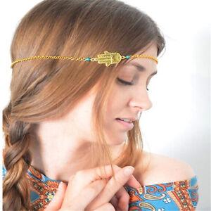 Luck-Turquoise-Hamsa-Fatima-Hand-Forehead-Headband-Headpiece-Hair-Band