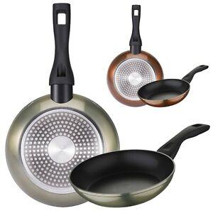 Set 2 sartenes Bergner aluminio forjado aptas inducción cocina colección Neon