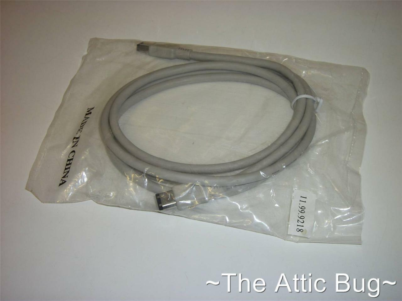 PC ~ FireWire Cable ~ 6 Pin to 6 Pin ~ 1.8m ~ IEEE1394 ~ NEW