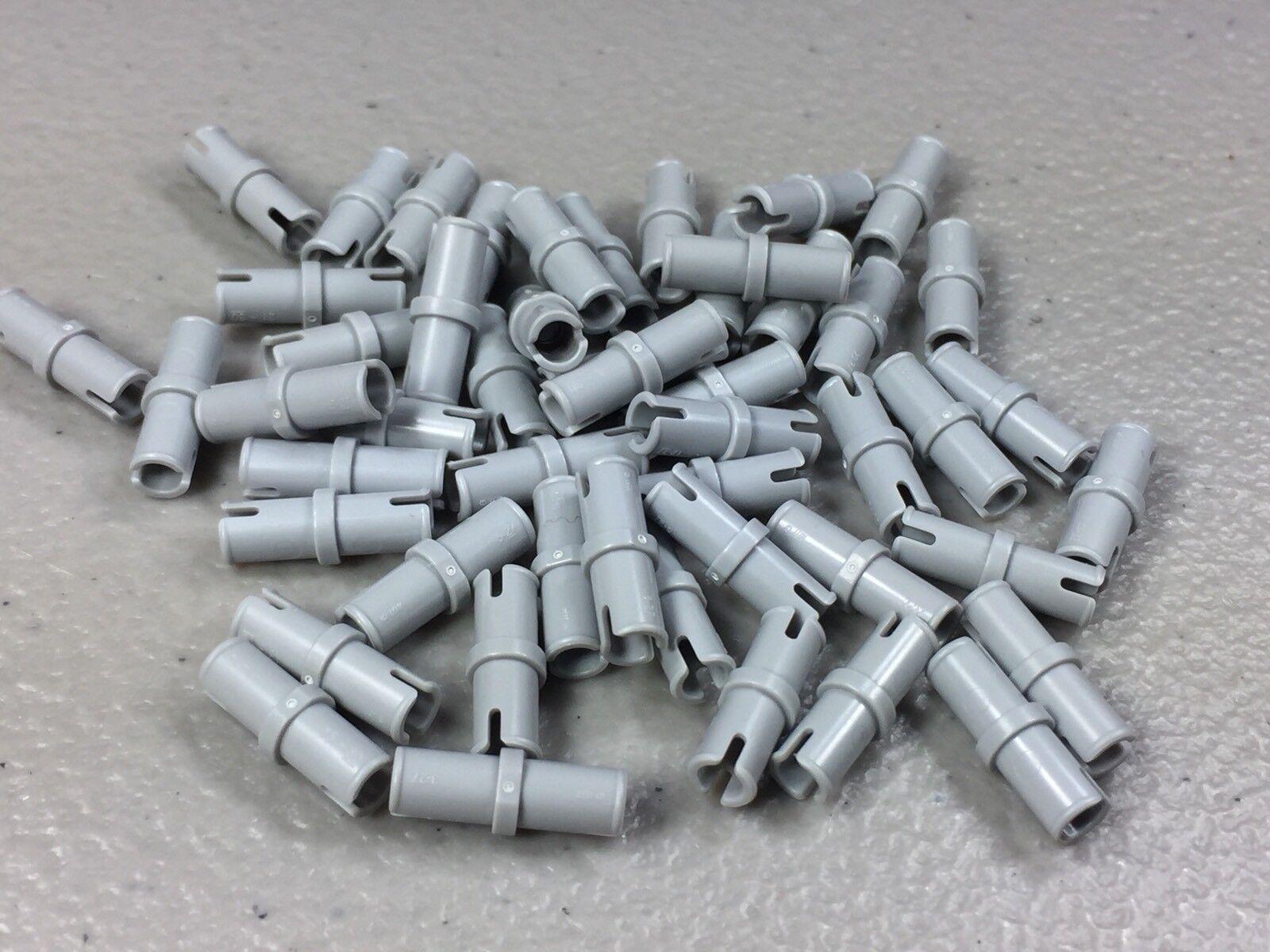NEUF Lego 32054-10x Brique // Technic Pin 3L friction ridges Gray Light B
