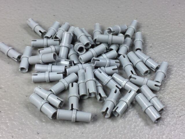 Lego Technic Pin 1//2 Light Bluish Gray Lot of 30 New