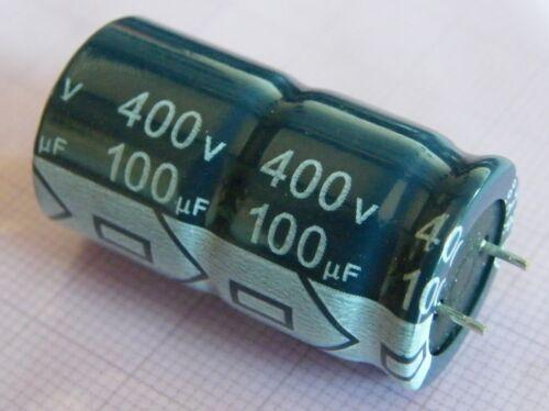 Jianghai 10x 100uf//400v Elko 105 ° C