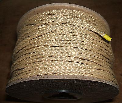 3 32 Quot X 200 Diamond Braid Sand Tan Polyester Dacron Cord Twine String Ebay