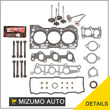 Fit Chevy Geo Metro Firefly G10 Head Gasket Set Bolts Intake Exhaust Valves