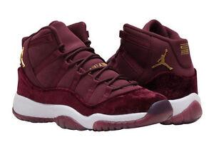 best website 06cc9 1552d Details about Nike Air Jordan 11 XI Retro Velvet Heiress Maroon Sneakers  Size 4y. w/receipt