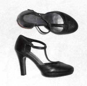chaussures ,escarpins JONAK en cuir noir P 39 neuf | eBay