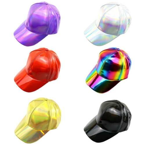 Damen Herren Baseball Cap basecap cap mütze baseballcap kappe cap PU Laser De
