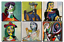TIME4BILD PABLO PICASSO Maler Grafiker Girl PORTRAITS BILDER LEINWAND GICLEE ART
