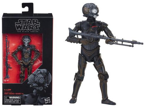 "6/"" 4-LOM BOUNTY HUNTER Action Figure ~ Hasbro Star Wars Black Series"