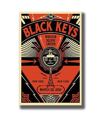 Hot The Black Keys Rock Music Fabric Poster Art TY787-20x30 24x36 Inch